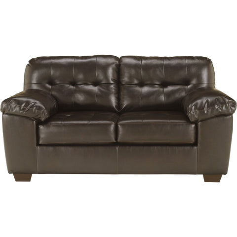 Alliston Loveseat - Chocolate