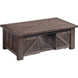 Garrett Coffee Table - Charcoal