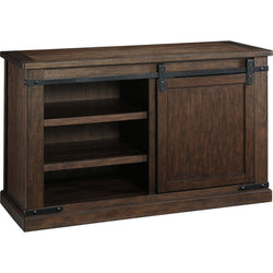 Budmore  TV Stand - Rustic Brown