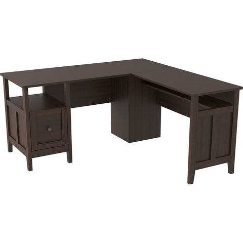 Camiburg Desk - Warm Brown