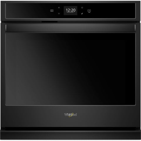 Whirlpool 30 Self Clean Wall Oven - Black