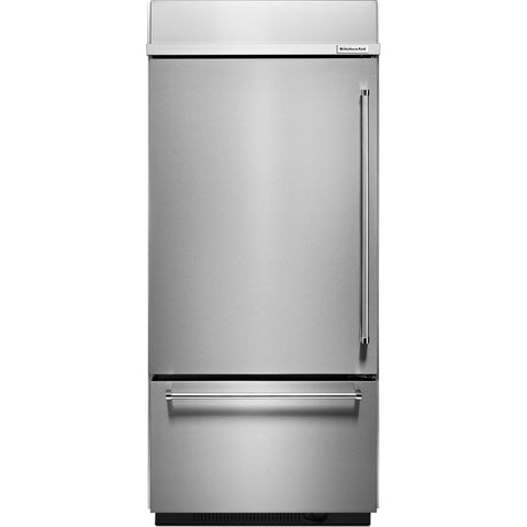 KitchenAid Bottom Mount Fridge - Stainless Steel