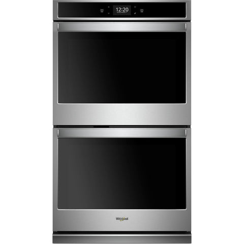 "Whirlpool 27"" Double Wall Oven - Stainless Steel"