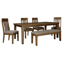 Flaybern 6 Piece Dining Room - Brown