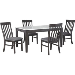 Luvoni 5 Piece Casual Dining - Grey