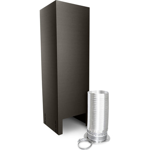 Island Hood Chimney Extension Kit Extension Kit - Black Stainless