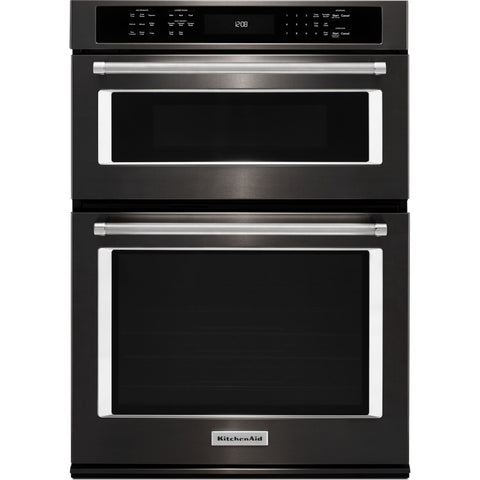 KitchenAid Microwave/Wall Oven - Black Stainless