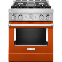 KitchenAid Gas Range - Orange