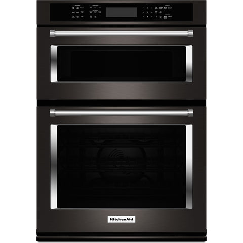 KitchenAid 30 Microwave/Wall Oven  - Black Stainless