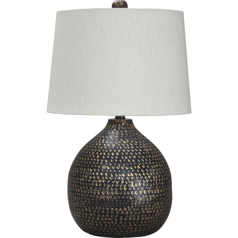 Maire Table Lamp - Black/Gold