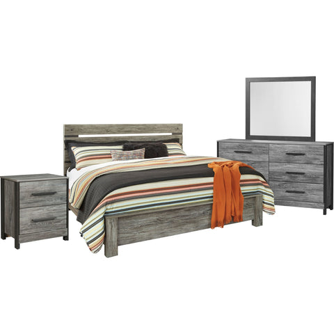 Cazenfeld 6 Piece Queen Bedroom - Grey