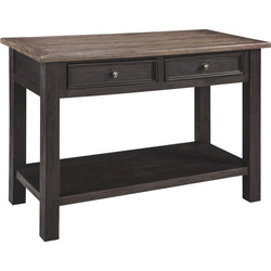 Tyler Creek Sofa Table - Brown/Black