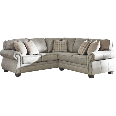 Olsberg 2 Piece Sectional - Steel