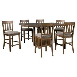 Flaybern 7 Piece Pub Set - Brown