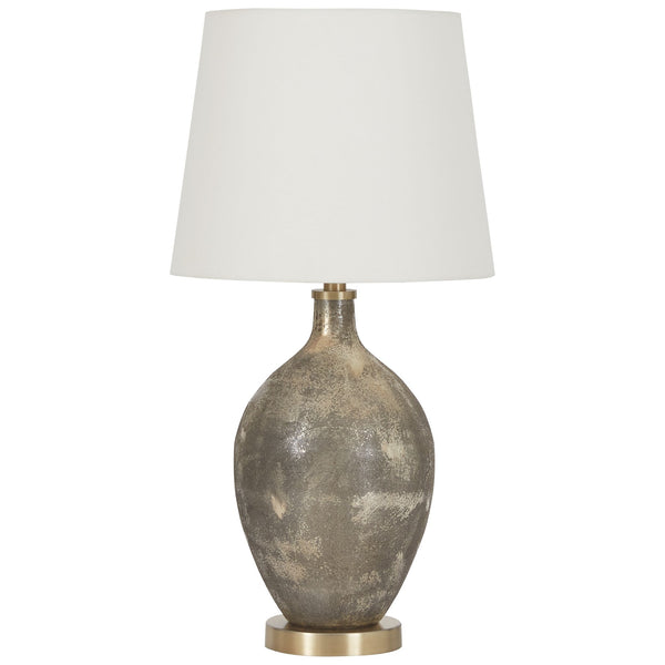 Jemarie Table Lamp - Gray/Gold Finish