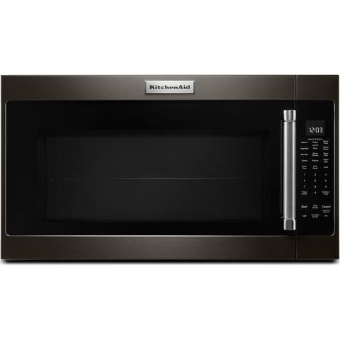 KitchenAid OTR Microwave - Black Stainless