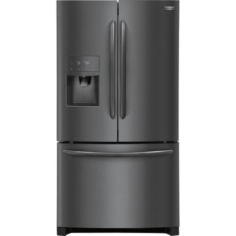 Frigidaire Gallery French Door Fridge - Black Stainless