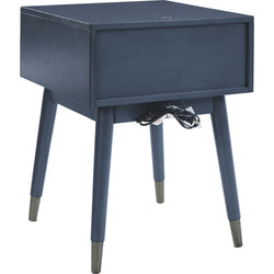 Paulrich  Accent Table - Antique Blue