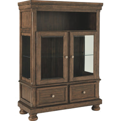 Baymore  Curio Base - Medium Brown