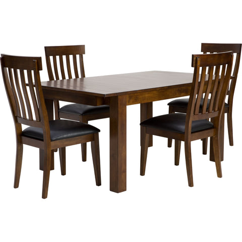Extension 5 Piece Formal Dining - Whiskey