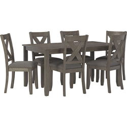 Kingston Bay 7 Piece Casual Dining - Gray