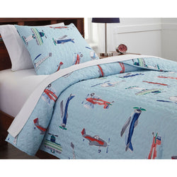 Hayden Vine  Twin Quilt Set - Multi