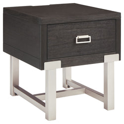 Chisago End Table - Black