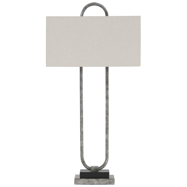 Bennish Table Lamp - Antique Silver Finish