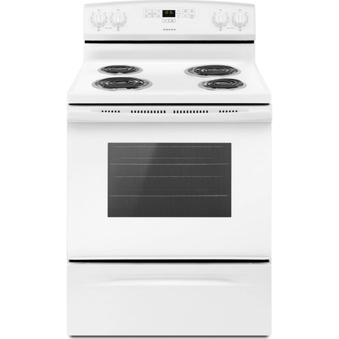 Amana 30 Electric Range - White