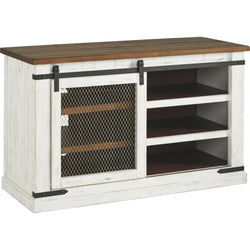 Wystfield TV Stand - White/Brown