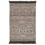 Kylin Area Rug - Taupe/Black