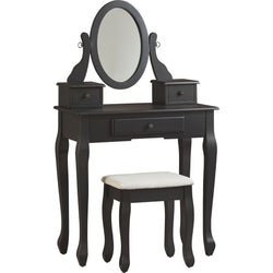 Huey Vineyard Vanity Set - Black