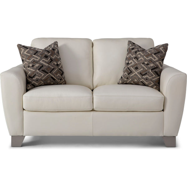 Marymount II My Custom™ Loveseat - Alabaster