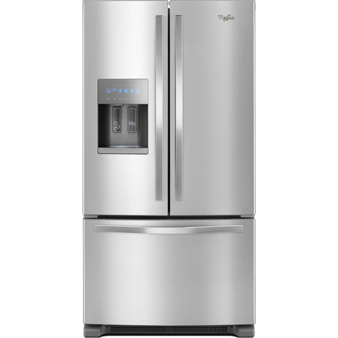 Whirlpool French Door Fridge - Stainless Steel