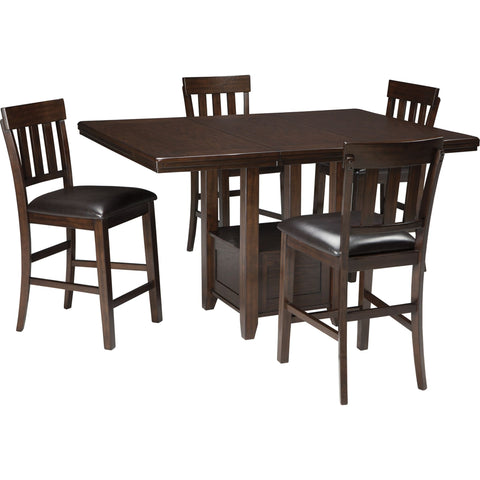 Baltica 5 Piece Casual Dining - Brown