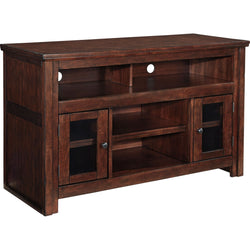 Harpan  TV Stand - Reddish Brown