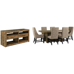 Sommerford  8 Piece Casual Dining - Brown