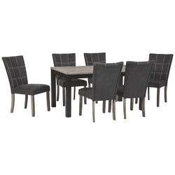 Northfork Craftsman 7 Piece Dining Room - Two-tone