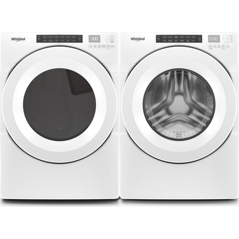 Whirlpool Front Load Pair - White