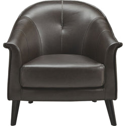 Brickham Accent Chair - Dark Brown