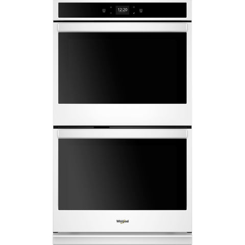 "Whirlpool 27"" Double Wall Oven - White"