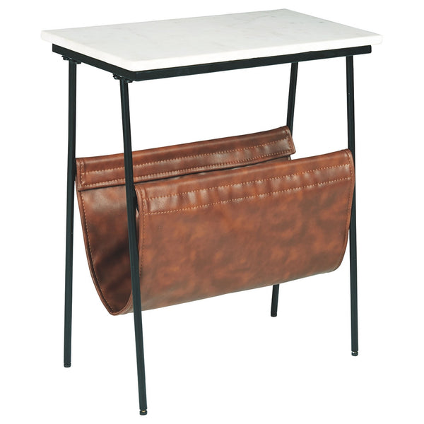 Etanbury  Accent Table - Brown/Black