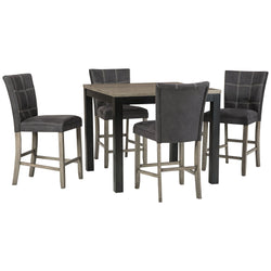 Northfork Craftsman 5 Piece Pub Dining - Two-tone