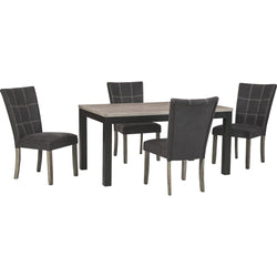 Northfork Craftsman 5 Piece Casual Dining - Two Tone