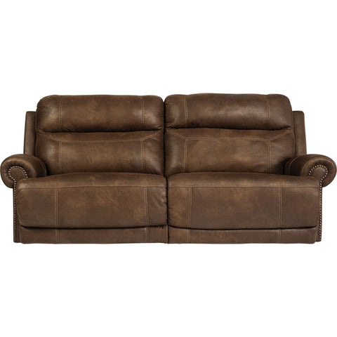 Austere Power Reclining Sofa - Brown
