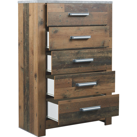 Glen Eagle Chest - Brown