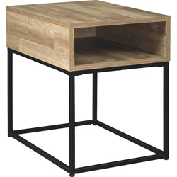 Gerdanet End Table - Natural