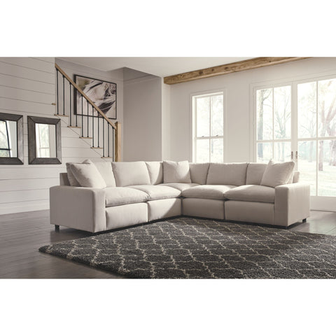 Shelley 5 Piece Sectional - Ivory