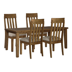 Flaybern 5 Piece Casual Dining - Brown