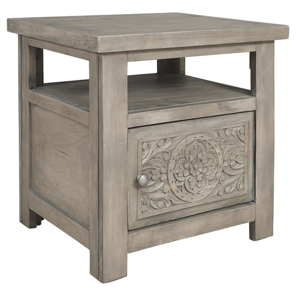 Marcilyn End Table - Brown